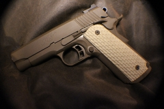 Kimber 1911 .45 in Patriot brown cerakote by acoating.com_1