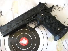 Custom Design Skull Camo Sti 2011 pistol_5