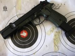 Beretta 92 compensated pistol_1