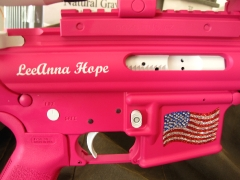 Tactical Ar-15 in pink and white_5