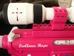 Tactical Ar-15 in pink and white_6